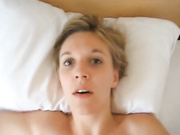 She has a crazy look when fucked in the ass