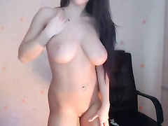 Big tits alluring guys on webcam